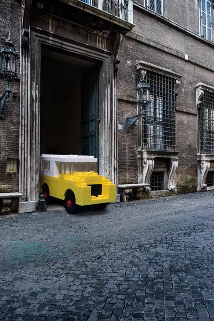 Конструкторы Lego в реальной жизни: фотограф Domenico Franco