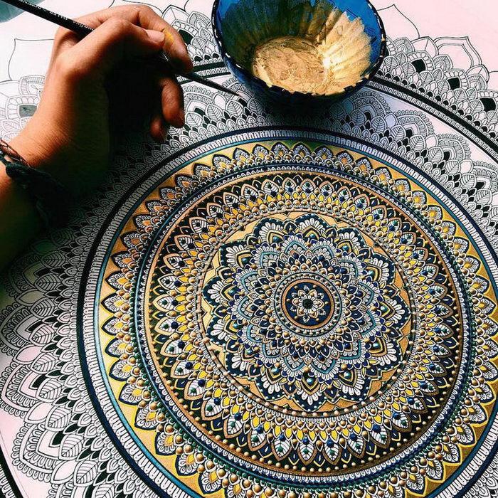 Арабские мандалы Asmahan A. Mosleh