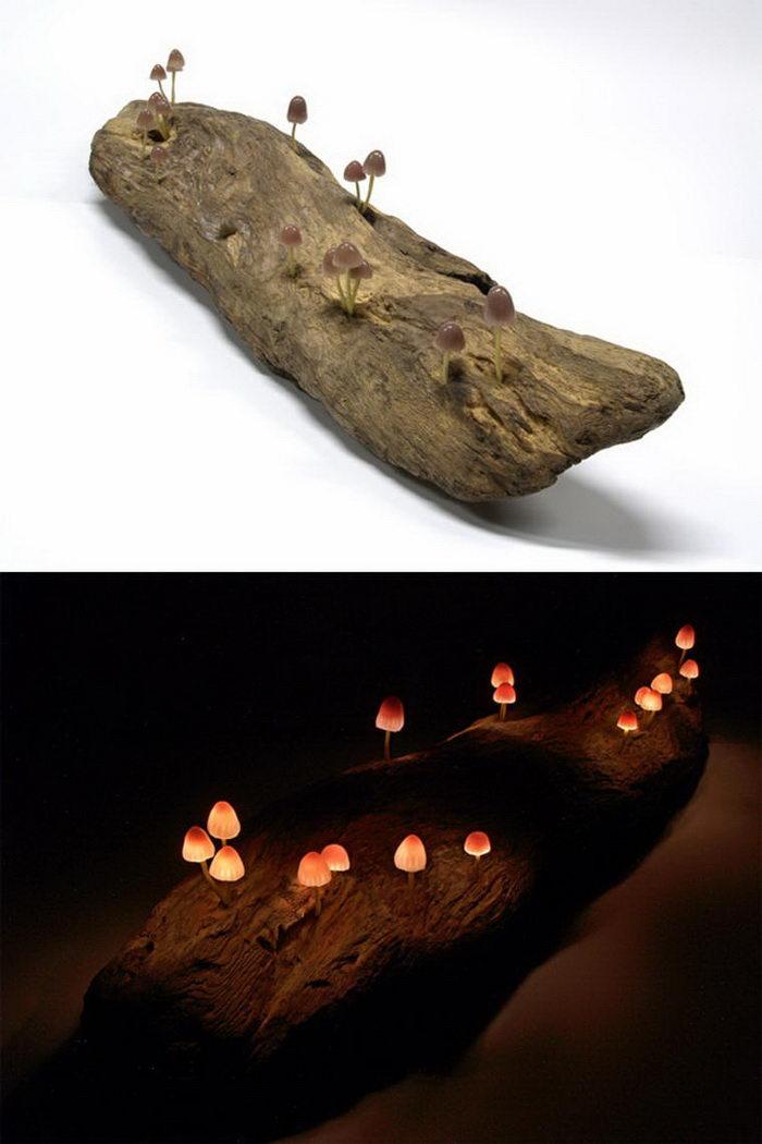 Лампы-грибы авторства Yukio Takano