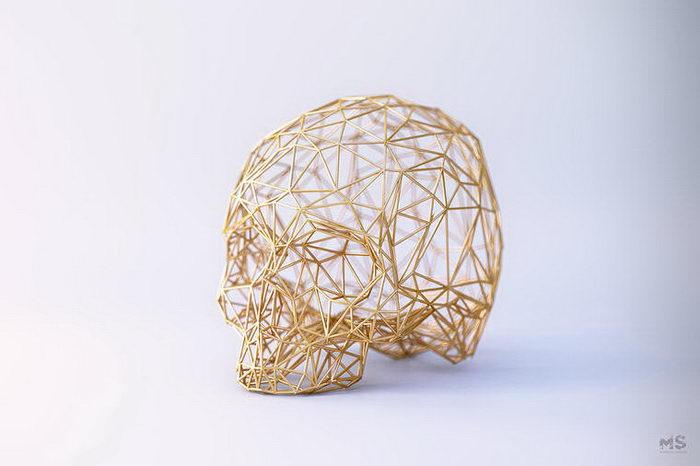 3D-скульптуры животных Mat Szulik