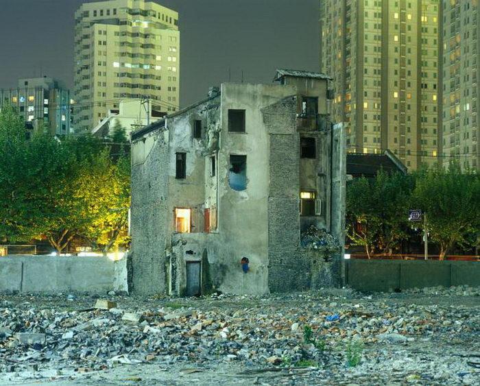 Фантомный Шанхай: остатки города прошлого в фотографиях Greg Girard