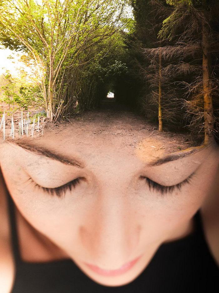Связь человека и природы: коллажи Monica Carvalho