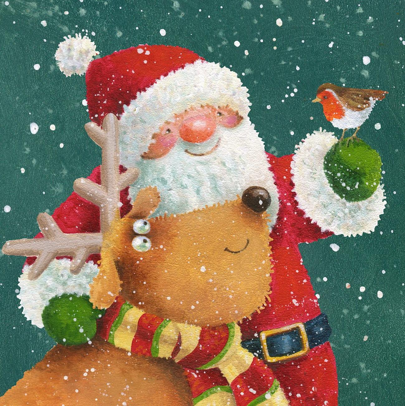 Новогодние картинки Jan Pashley