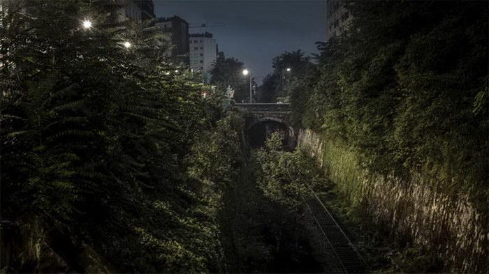 Ночные улицы Парижа в фотографиях R?my Souban?re