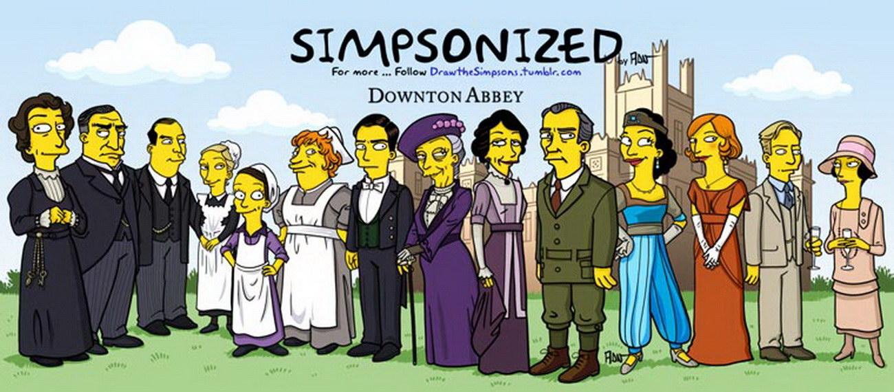Симпсонизированные плакаты к известным фильмам