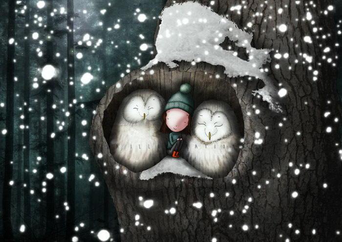 Забавные иллюстрации Ilaria Conalbi