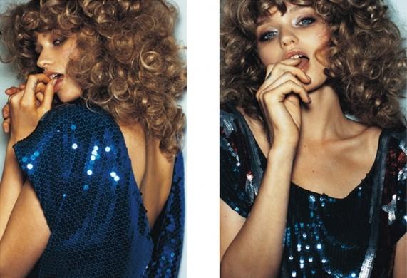 Фотографии Эбби Ли Кершоу (Abbey Lee Kershaw) для Moussy