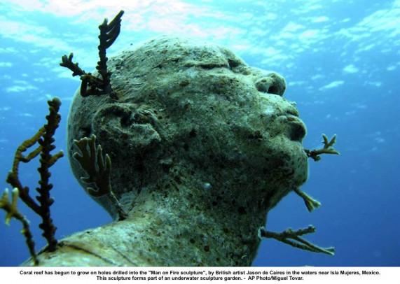 Подводный музей скульптур в канкуне