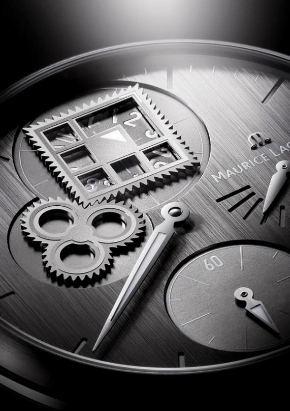 Часы Masterpiece Regulateur Roue Carree от Maurice Lacroix (фото)