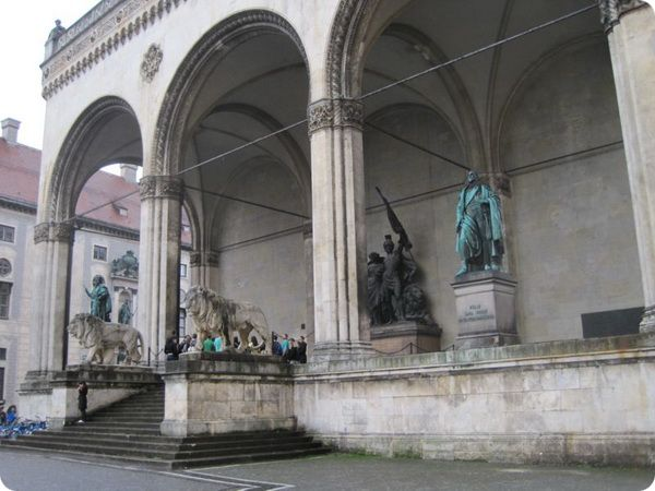 Архитектурная красота Мюнхена