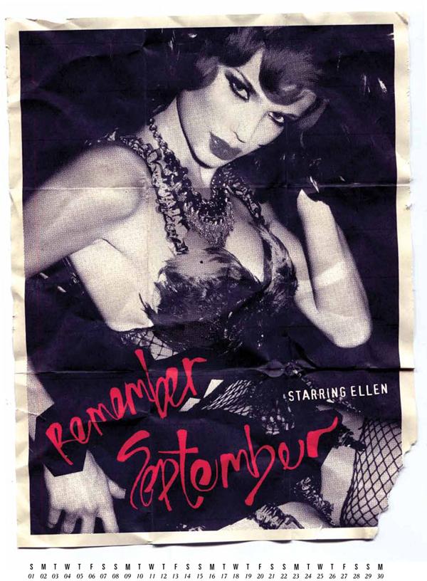 Новый эротичный календарь от журнала Galore Magazine