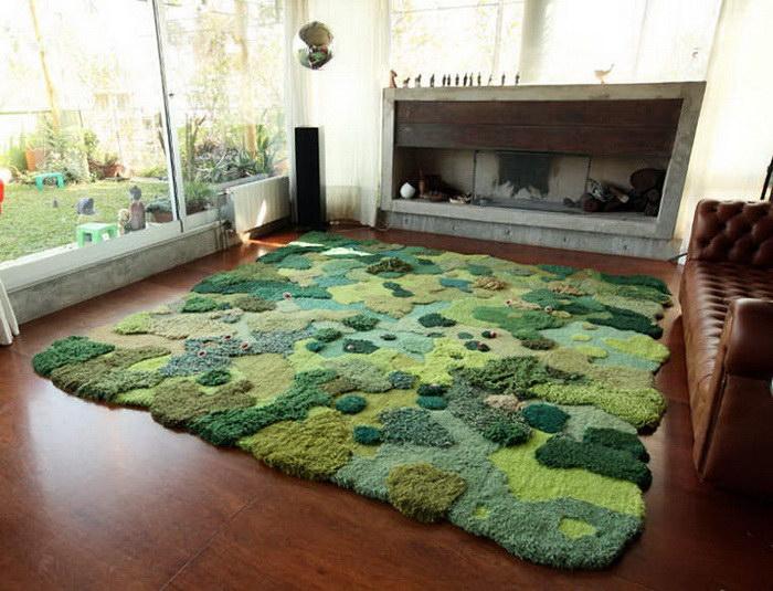 Зеленые ковры производства Alexandra Kehayoglou