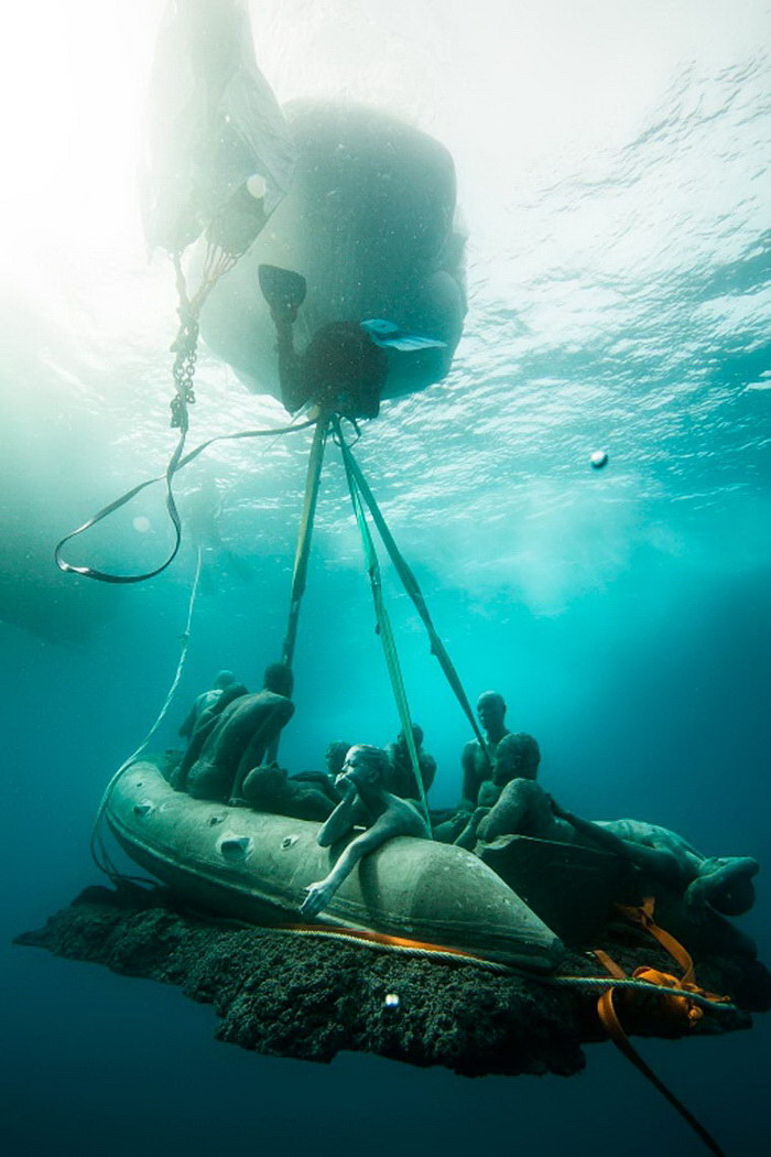 Музей подводных скульптур на Канарах Jason deCaires Taylor