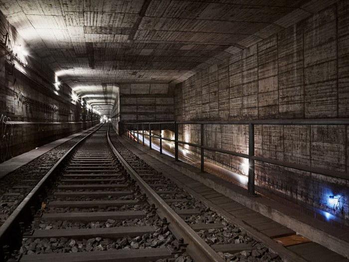 Подземные пейзажи метро Timo Stammberger