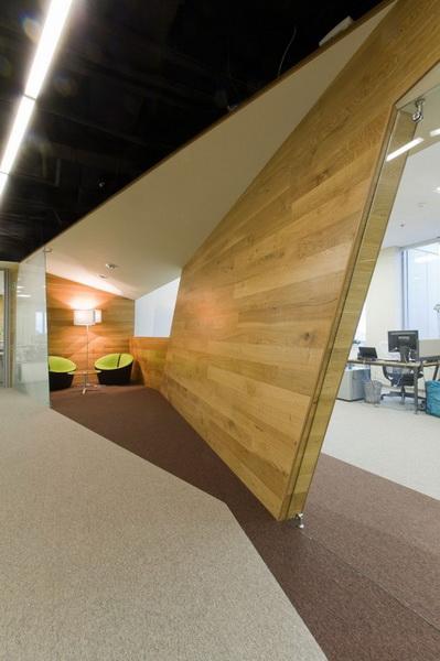 Лаконичный дизайн офиса Яндекс
