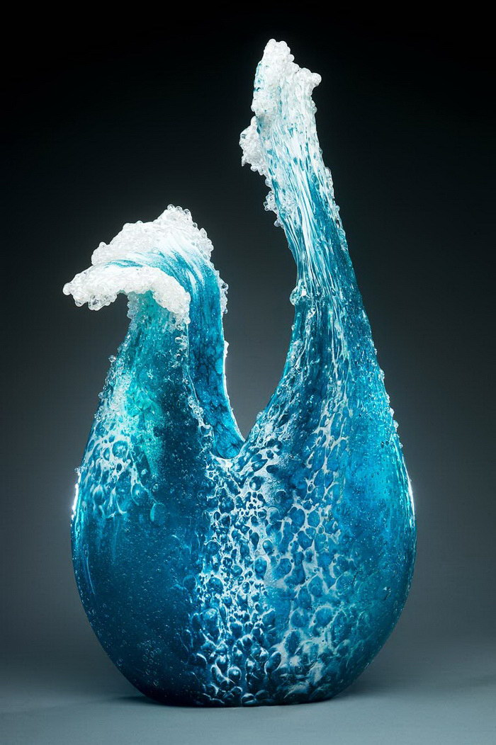 Стеклянные скульптуры Paul DeSomma и Marsha Blaker