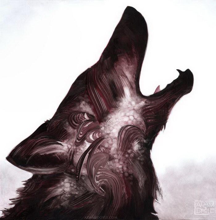 Картины животных Adam S. Doyle