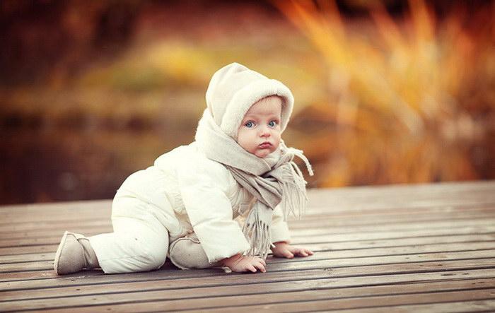 Малыши в фотографиях Елены Карнеевой