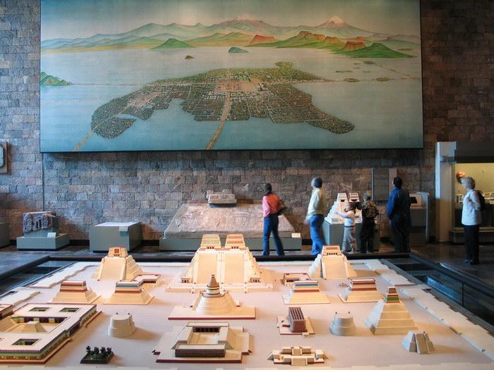 Теночтитлан: древнейший город Мексики