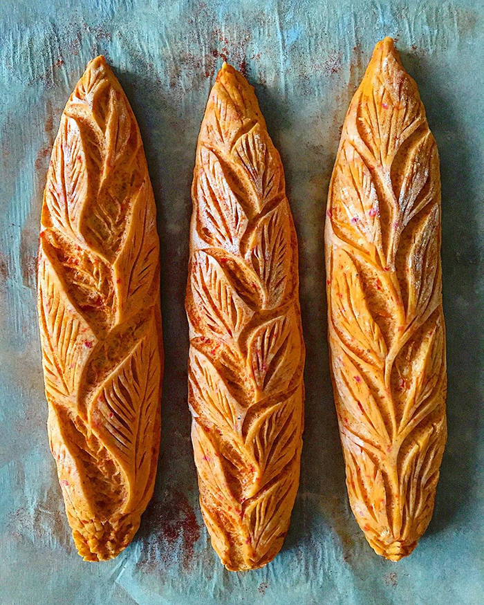 Искусство хлеба Blondie and Rye