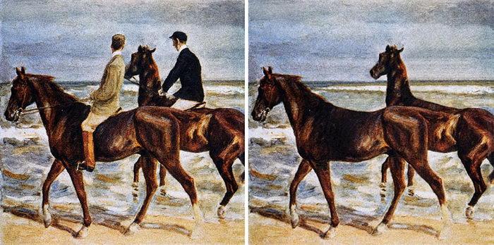 Знаменитые картины до и после коронавируса