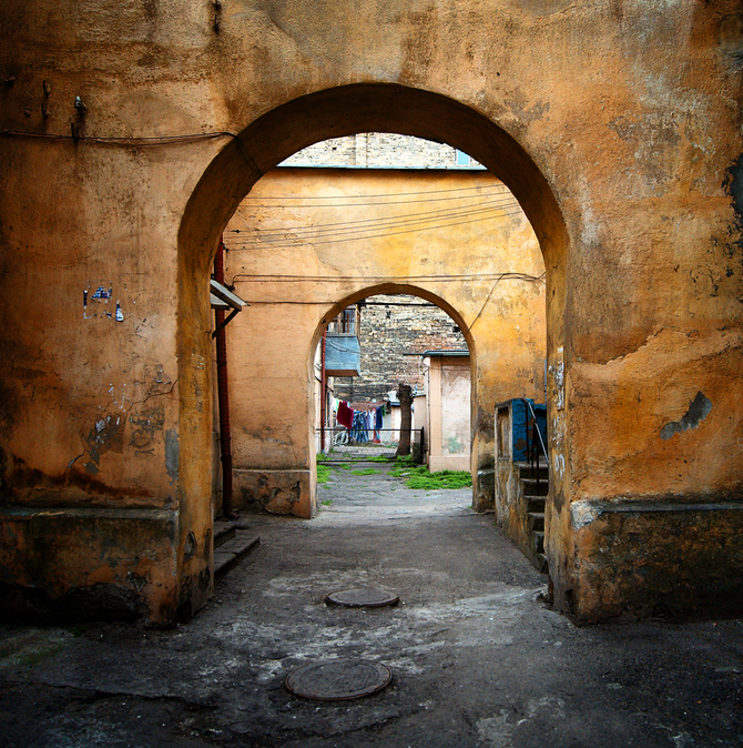 Одесские дворики