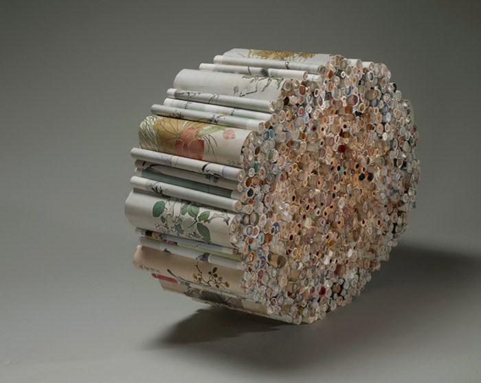 Книжные скульптуры Jacqueline Rush Lee