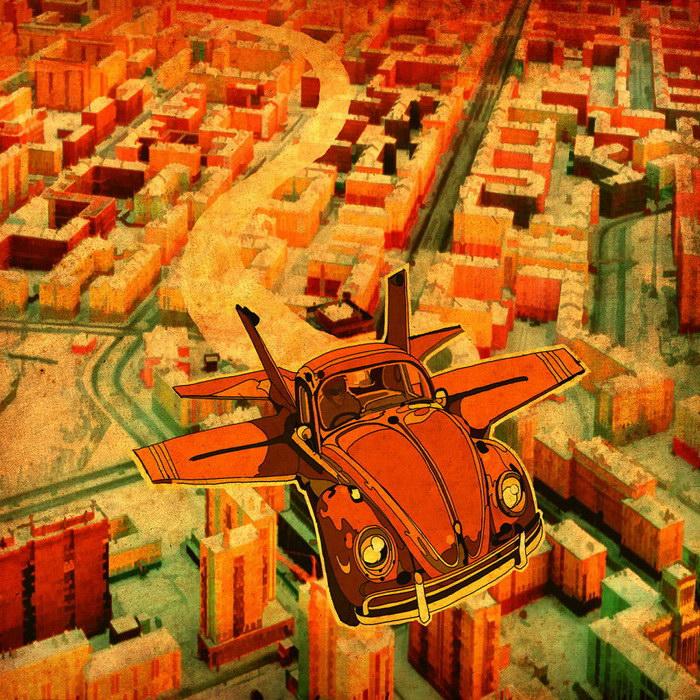 Летающий транспорт Steve McDonald