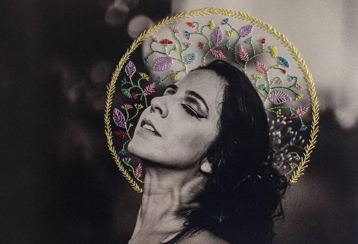 Вышивки на фотографиях Aline Brant