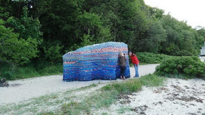 Инсталляция из 75 тысяч бутылочных пробок