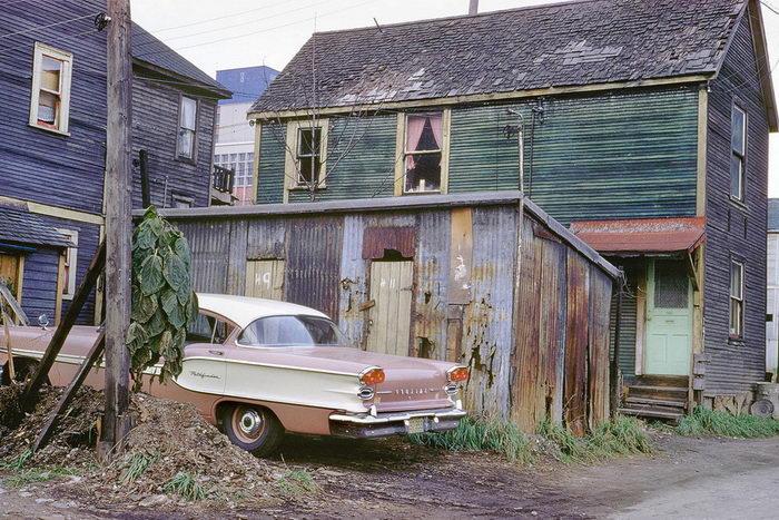 Западная Канада 1950-х годов в ярких снимках Fred Herzog