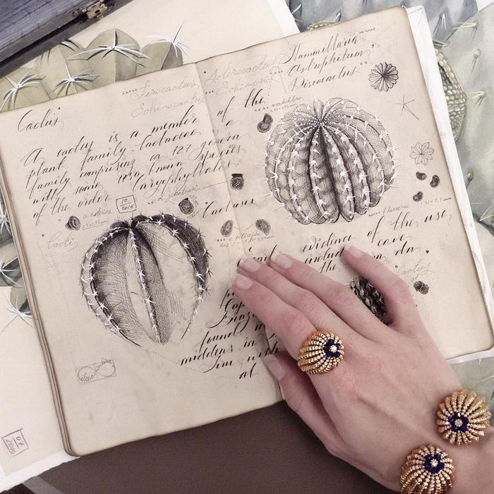 Стильный скетчбук с иллюстрациями Елены Лимкиной