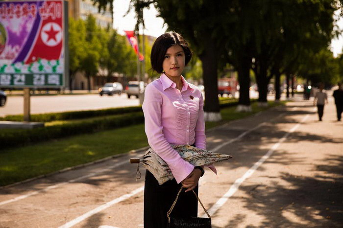 Красивые женщины Северной Кореи
