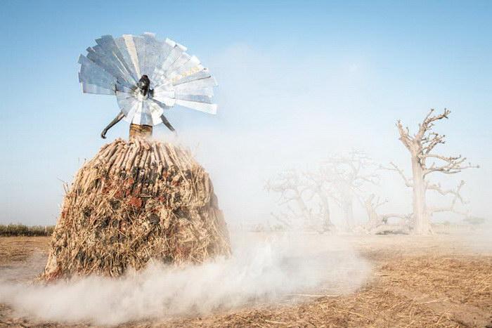 Самые загрязненные области Сенегала в фотографиях Fabrice Monteiro