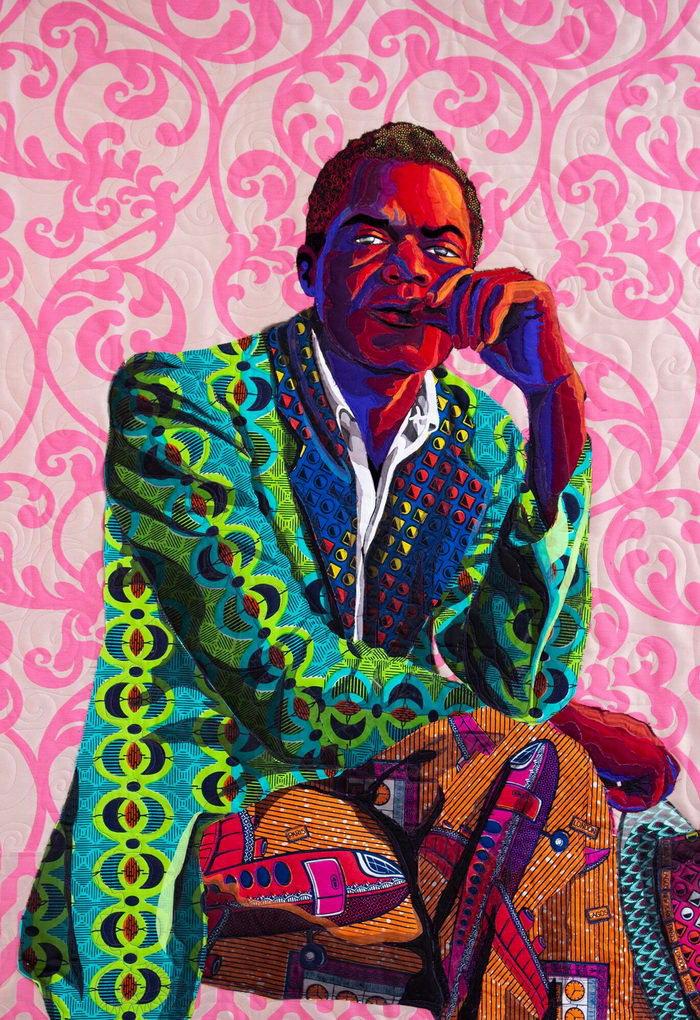 Тканные портреты чернокожих Bisa Butler