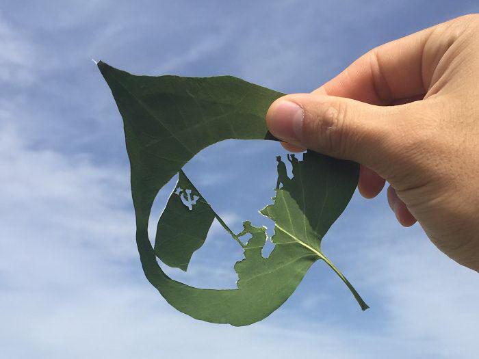 Оригинальная резьба по листве? Kanat Nurtazin