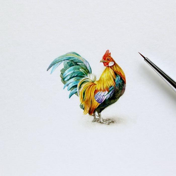Миниатюрные рисунки Julia Las