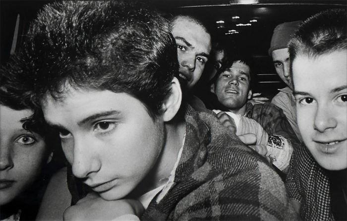 Таксист Ryan Weideman, который фотографировал своих пассажиров 20 лет