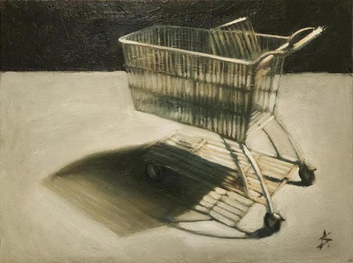 Бытовые виды США в картинах Alex Selkowitz
