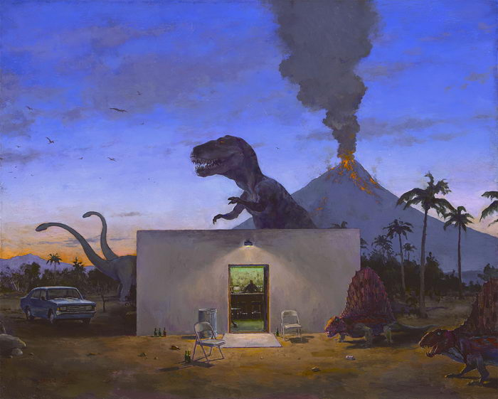 Апокалипсис на картинах John Brosio