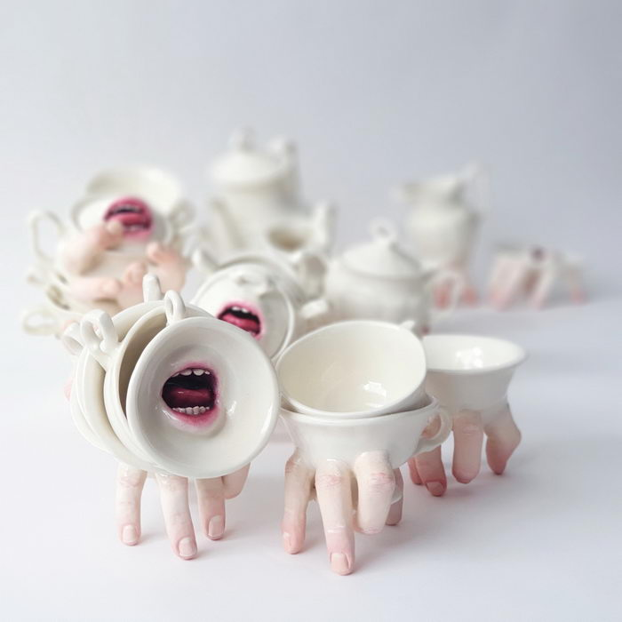 Жуткая керамика Ronit Baranga