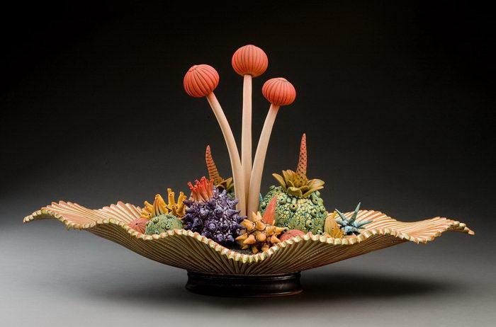 Нереальные керамические фрукты William Kidd