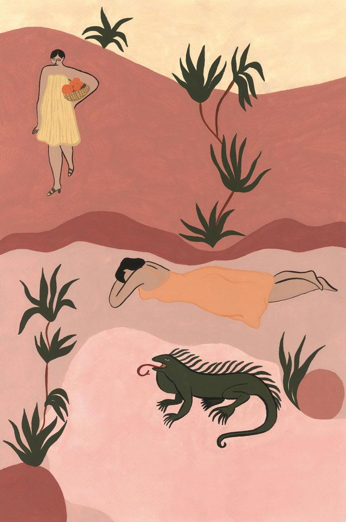 Яркие и стильные картины Isabelle Feliu