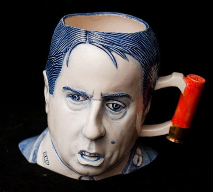 Политики-чайники и другие скульптуры Charles Krafft