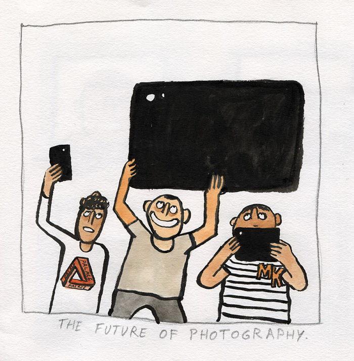 Ирония над современными технологиями: иллюстрации Jean Jullien