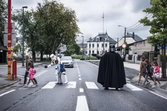 Дарт Вейдер в финансовом кризисе: смешной проект Michaël Massart