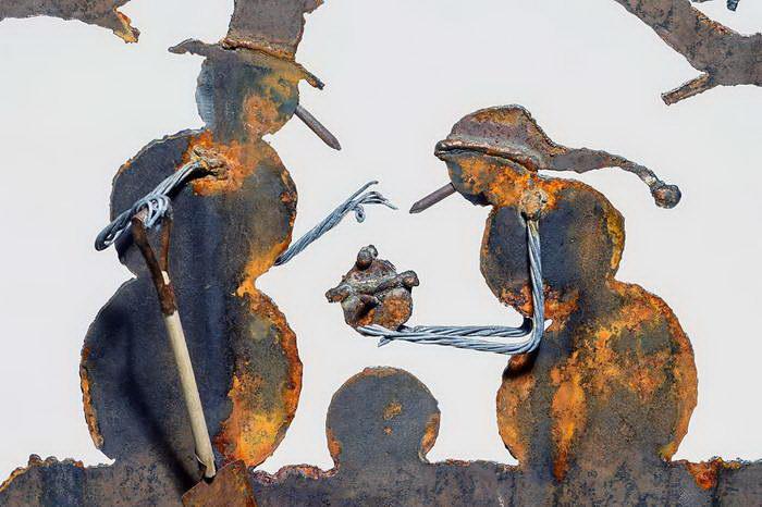 Металлические картины Cindy Chinn