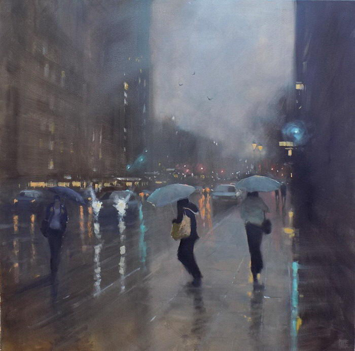 Дождь в Мельбурне: картины Mike Barr