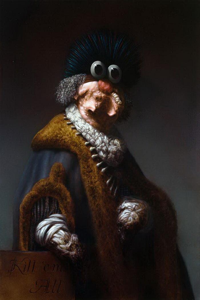 Психоделика в картинах Christian Rex van Minnen