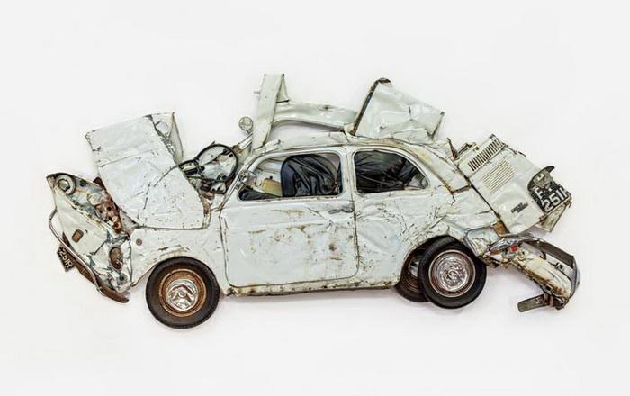 Старые спресованные машины